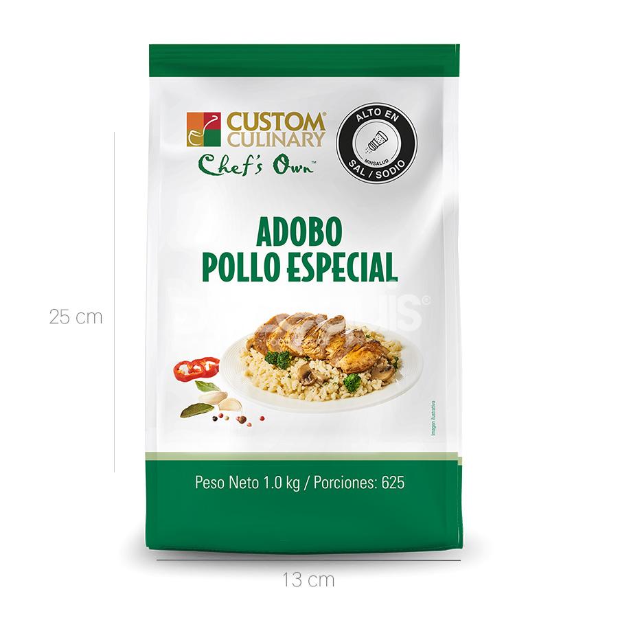 Adobo Pollo Especial Zafrán x 1000 Gr