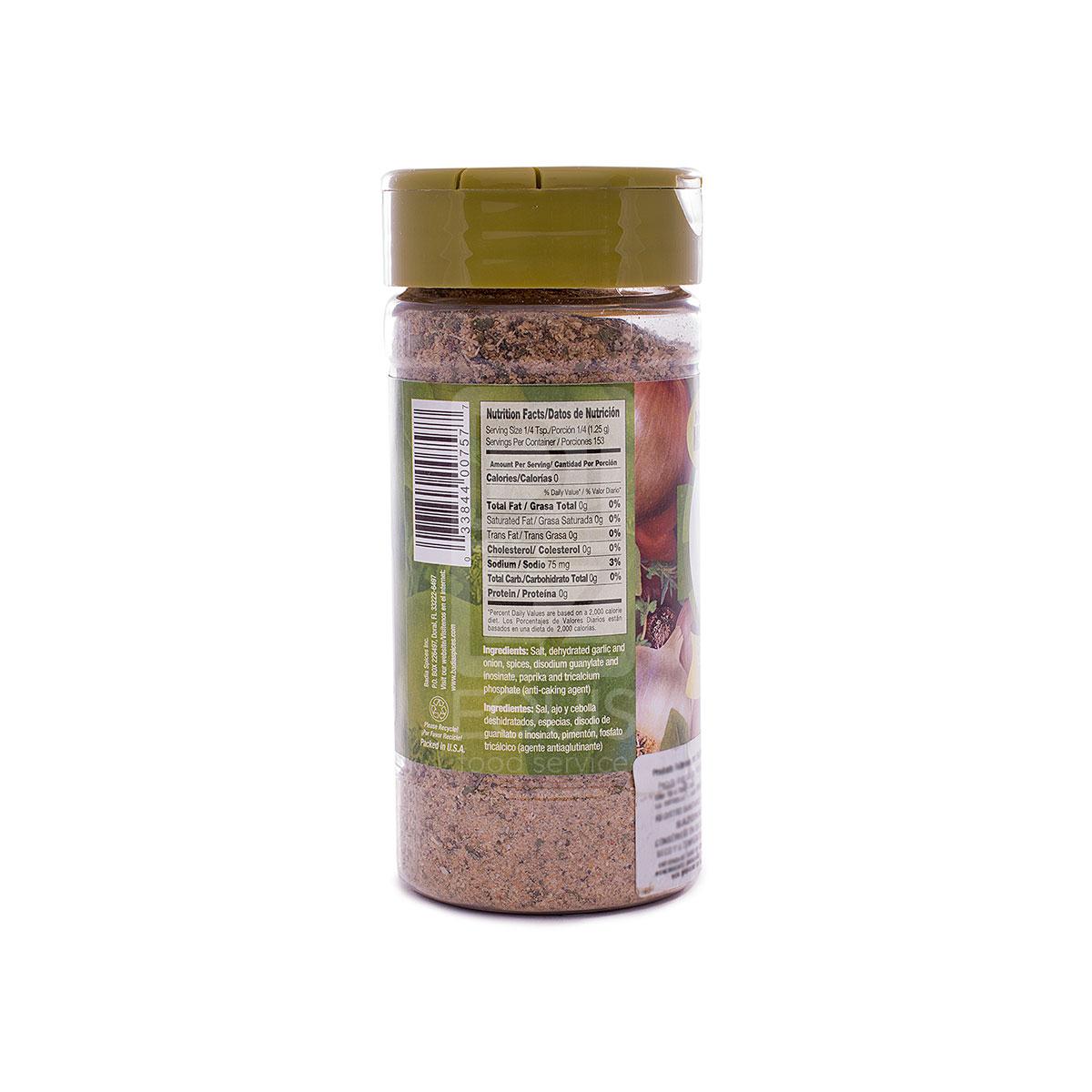 Sazón Tropical Badia x 191,44 Gr Tarrito Plástico