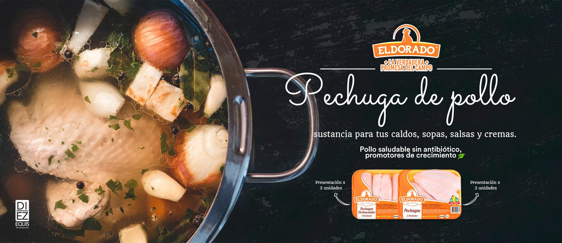 Banner Pechuga de pollo ElDorado
